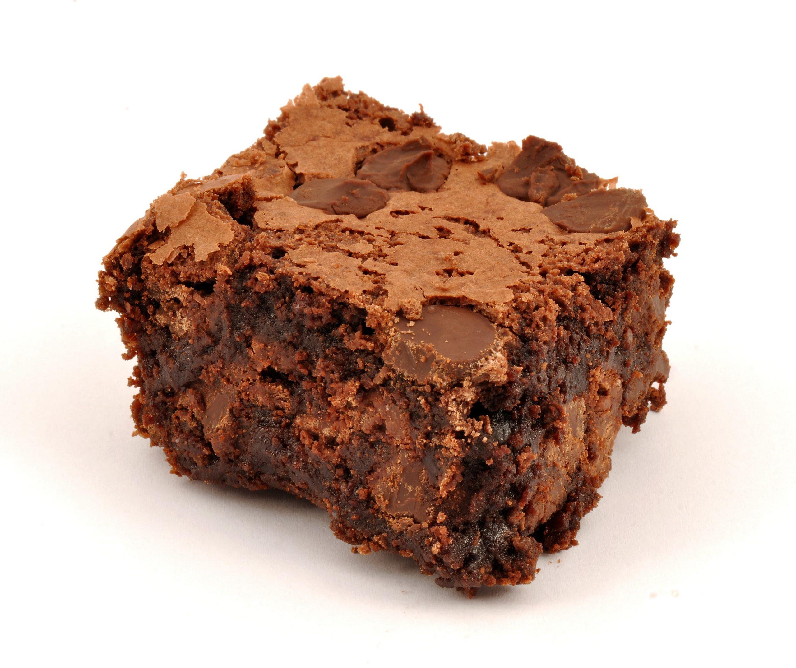 No Fuss Chocolate Brownie - non vegan